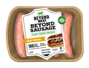 Food Trends Meatless and Vegan brats and burgers